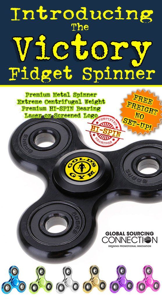 end user friendly flyers for marketing and promotion. Fidget spinners, fidget cubes and tradeshow giveaway.