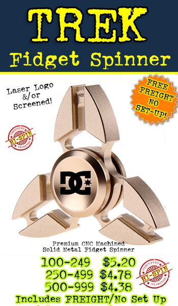 premium quality trek metal fidget spinners