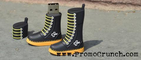 custom boot shaped usb flash drive