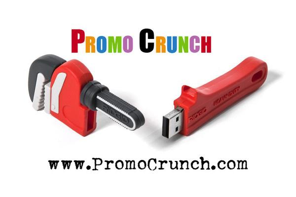 custom pipe wrench shaped usb flash drive