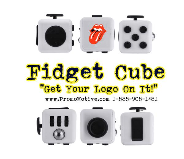 free fidget cube for promotional product and tradeshows