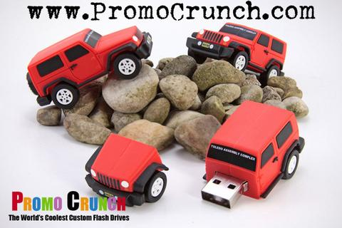 custom truck shaped usb flash drives
