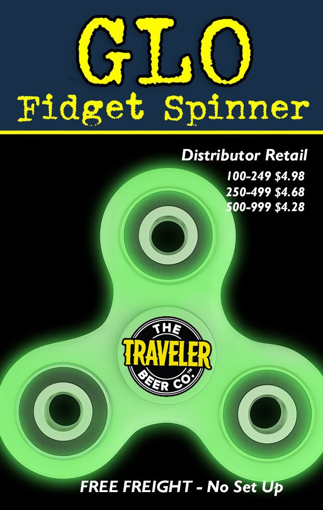 pricing for glow in the dark fidget spinner for promotional product