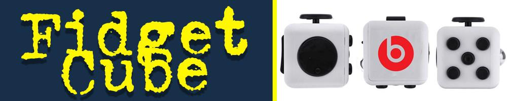 fidget cube for tradeshows, marketing and promotional product b2b.
