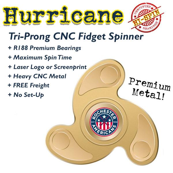 reverse spinning fidget spinner for promotional swag