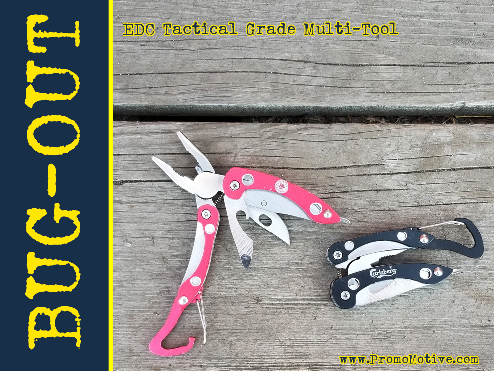 EDC Multi tool for trade show swag
