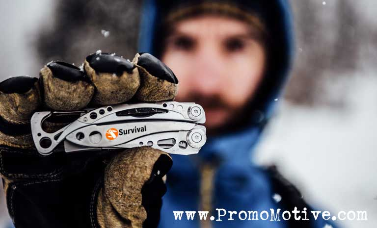 EDC Tactical multi tools for promotional product and trade show swag