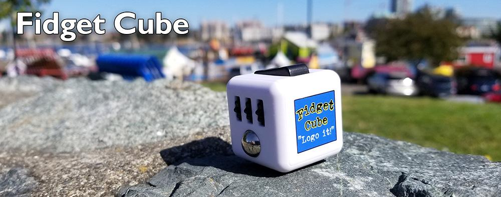 fidget cube promotional product for trade show