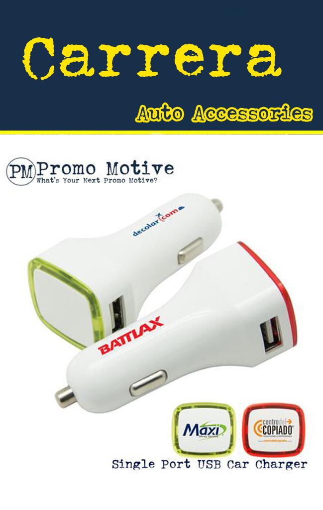 Single Port USB car lighter Promotional Product