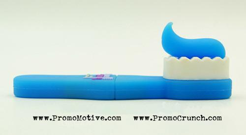 custom shaped flash drives for dentists and dental professionals for swag