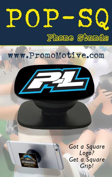 pop style square socket shaped promotional phone stand