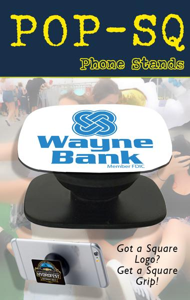pop socket style phone grips and tradeshow swag