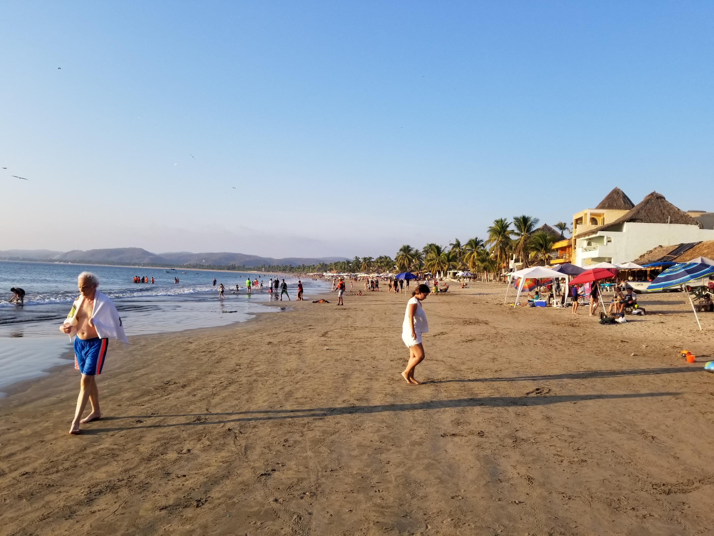 lamanzanilla beach
