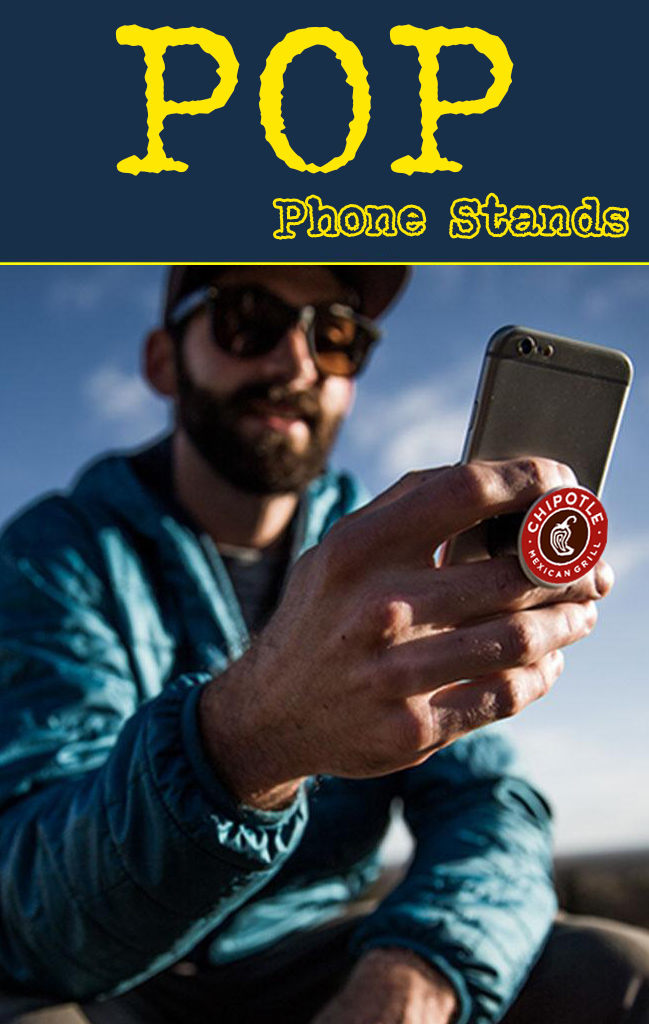 pop phone stand pop phone stand pop socket style media grip for trade shows and b2b marketing