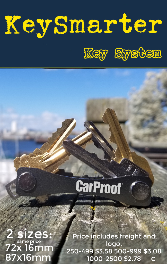 grey keysmart key system promotional product