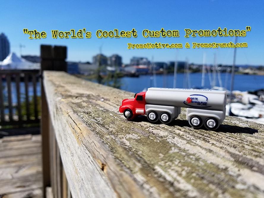 truck shaped custom flash drive