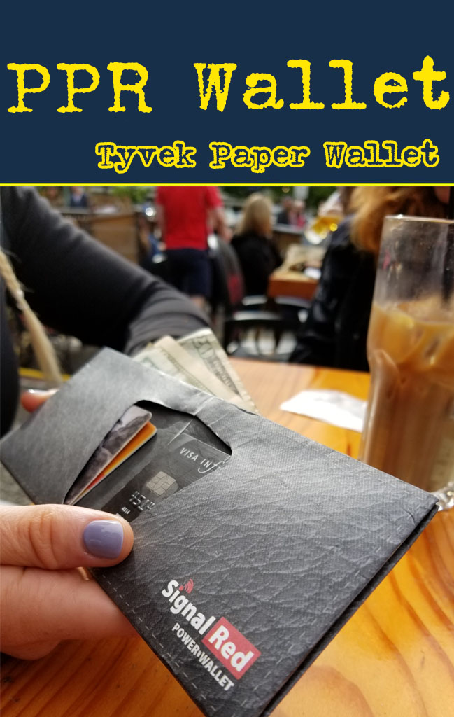 paper wallet tyvek for promo and b2b