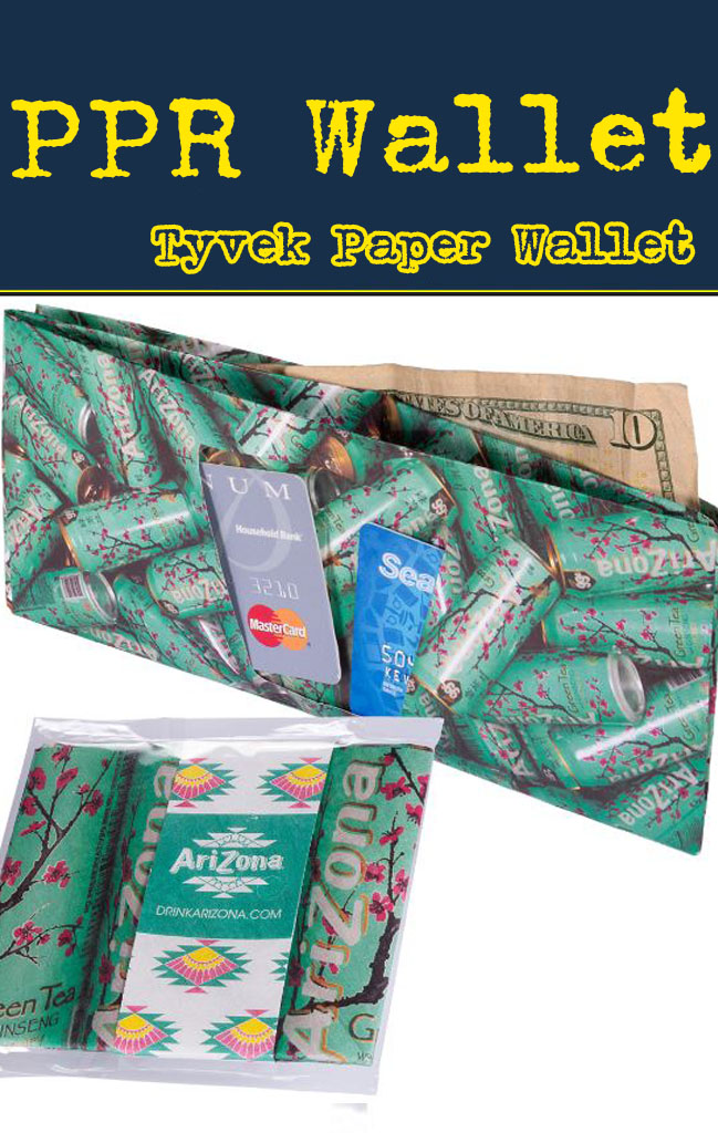 paper wallet tyvek for promotional product