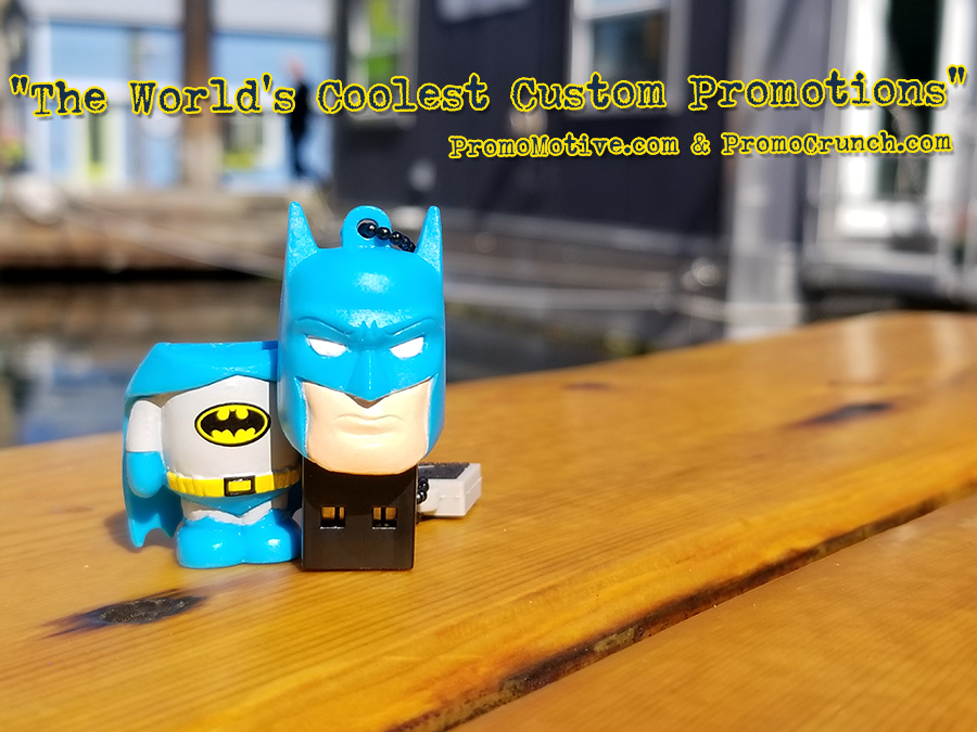 batman shaped usb flash drive 2