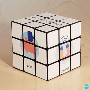 custom rubiks cube promotional product