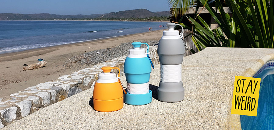 folding water bottle promotional product