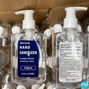 8.5 ounce pump hand sanitizer