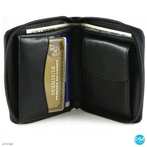 custom designed leather wallet LP-1348